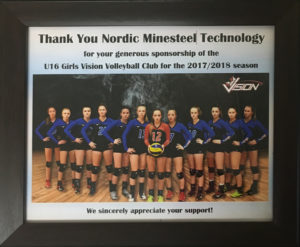 2018 volleyball sponsorship